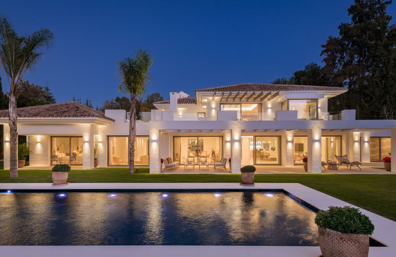 casa chequers el paraiso estate villaroel modern klassiek villa costa del sol spanje spectaculair