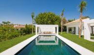 casa chequers el paraiso estate villaroel modern klassiek villa costa del sol spanje zwembad