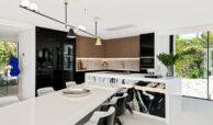 casa liceo nueva andalucia marbella costa del sol golf spanje villa eettafel