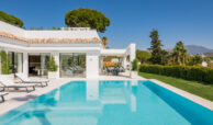 casa liceo nueva andalucia marbella costa del sol golf spanje villa tuin