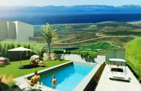 La Quinta de Cerrado: kleinschalig villaproject eerstelijns golf in Mijas Costa