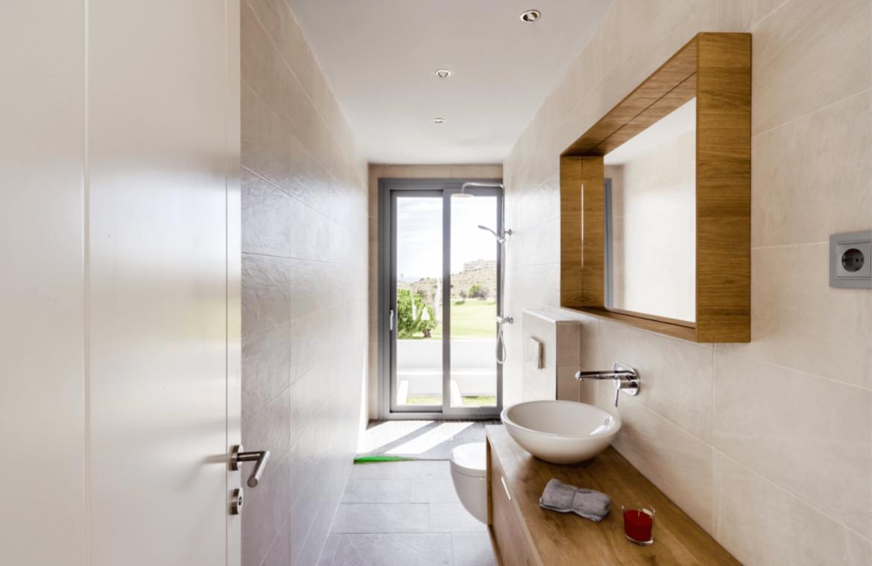 La Quinta de Cerrado villa nieuwbouw La Cala Mijas Costa del Sol Spanje te koop Vamoz golf zeezicht badkamer