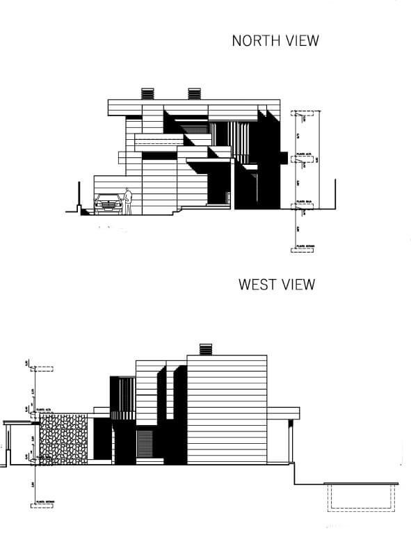La Quinta de Cerrado villa nieuwbouw La Cala Mijas Costa del Sol Spanje te koop Vamoz golf zeezicht grondplan model2 1