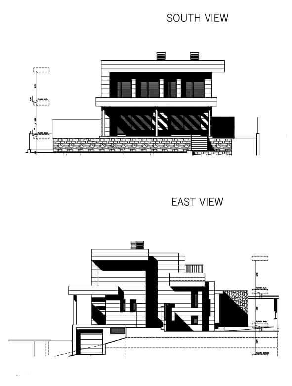 La Quinta de Cerrado villa nieuwbouw La Cala Mijas Costa del Sol Spanje te koop Vamoz golf zeezicht grondplan model2 2