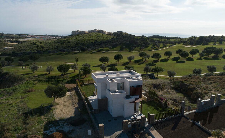 La Quinta de Cerrado villa nieuwbouw La Cala Mijas Costa del Sol Spanje te koop Vamoz golf zeezicht locatie