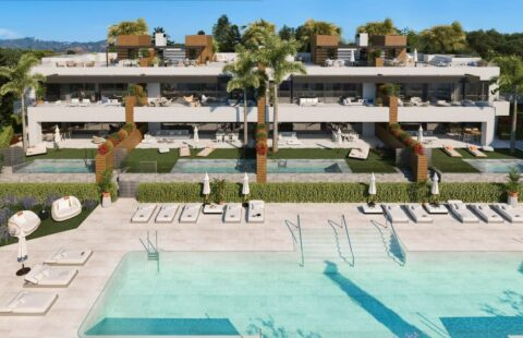 Artola Homes Fase II: luxueuze eerstelijns golf appartementen (Cabopino)