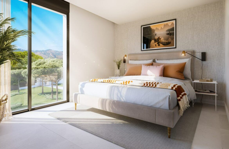 artola homes cabopino costa del sol spanje marbella appartement penthouse te koop vamoz golf nieuwbouw zeezicht slaapkamer