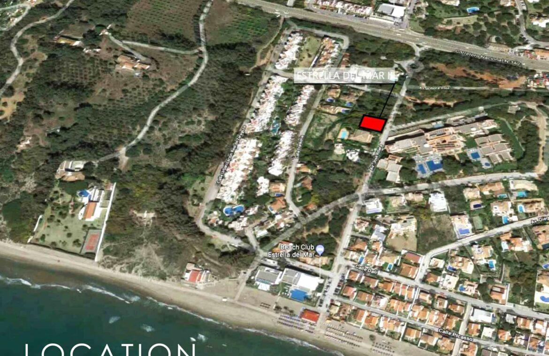 estrella del mar elviria costa del sol marbella spanje villa beachside zee ligging