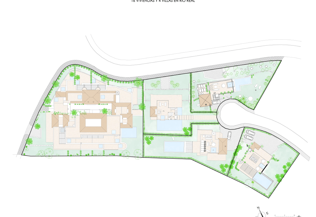 la cornisa rio real golf kleinschalig nieuwbouw appartement te koop costa del sol marbella vamoz masterplan