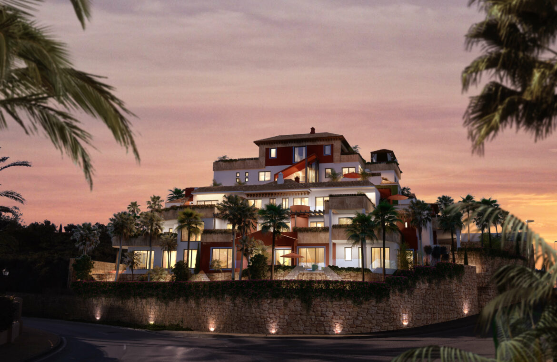 la cornisa rio real golf kleinschalig nieuwbouw appartement te koop costa del sol marbella vamoz modern
