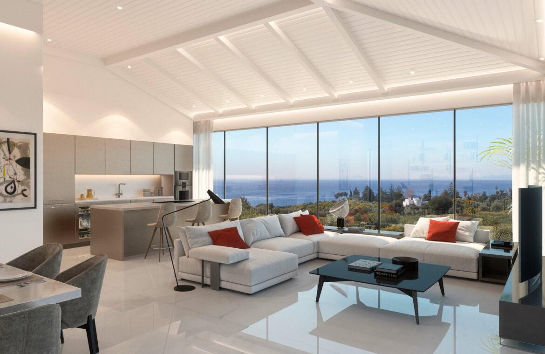 la cornisa rio real golf kleinschalig nieuwbouw appartement te koop costa del sol marbella vamoz salon