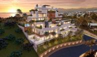la cornisa rio real golf kleinschalig nieuwbouw appartement te koop costa del sol vamoz marbella complex