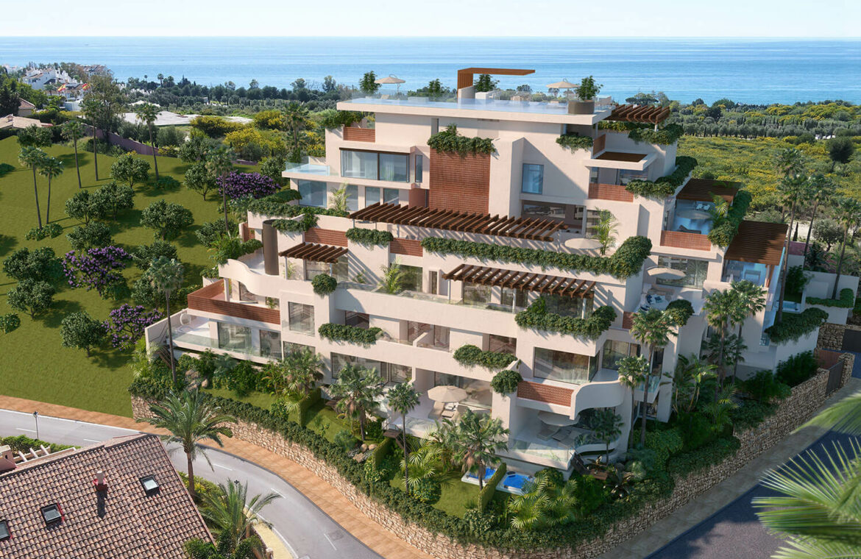 la cornisa rio real golf kleinschalig nieuwbouw appartement te koop costa del sol vamoz marbella modern