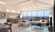 la cornisa rio real golf kleinschalig nieuwbouw appartement te koop costa del sol vamoz marbella salon
