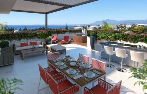La Cornisa de Rio Real Golf: moderne penthouses eerstelijns golf in Rio Real