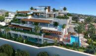 la cornisa rio real golf kleinschalig nieuwbouw appartement te koop costa del sol vamoz marbella zwembad