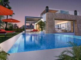 la cornisa rio real golf kleinschalig nieuwbouw villa te koop costa del sol marbella passivhaus zwembad 72
