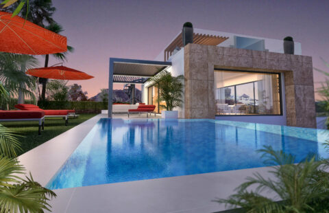 La Cornisa de Rio Real Golf: 4 moderne passivhaus villas aan de golf in Rio Real