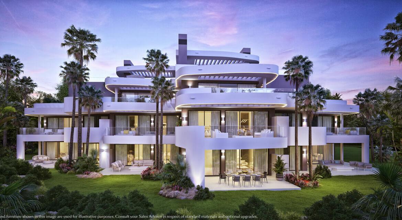 palo alto marbella costa del sol granados spanje vamoz zeezicht luxe modern resort