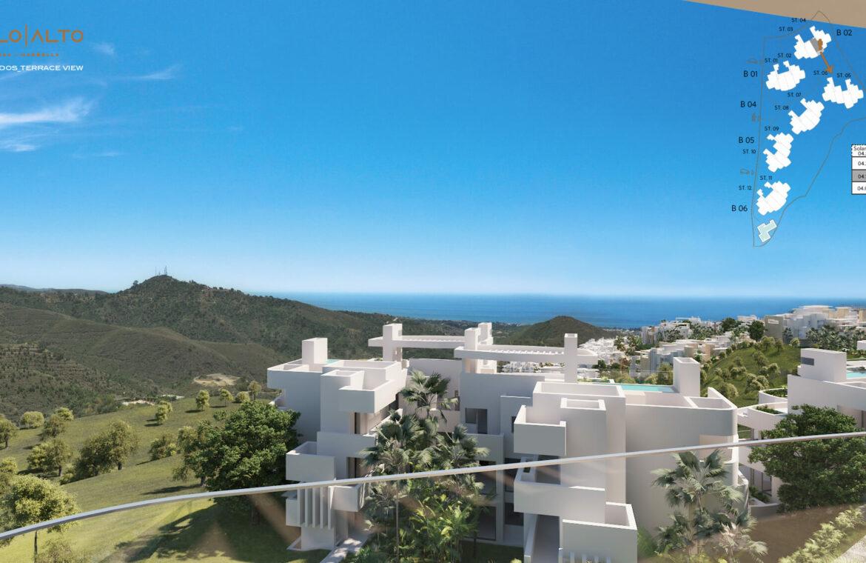 palo alto marbella costa del sol granados spanje vamoz zeezicht luxe modern resort blok 2