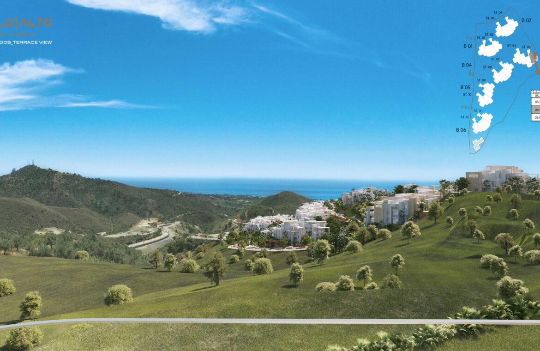 palo alto marbella costa del sol granados spanje vamoz zeezicht luxe modern resort blok 3
