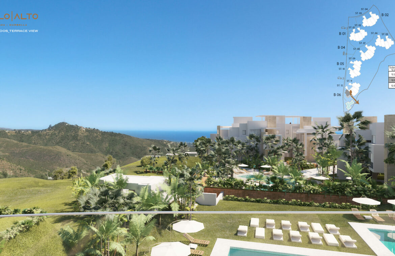 palo alto marbella costa del sol granados spanje vamoz zeezicht luxe modern resort blok 6