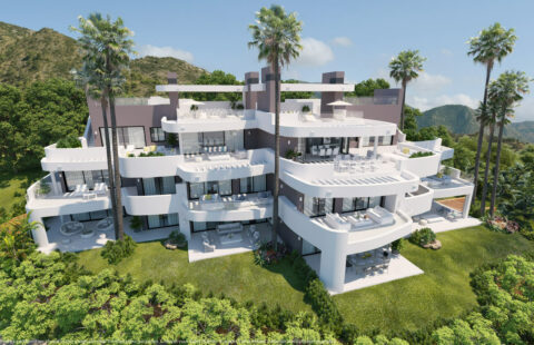 Granados: luxueus nieuwbouw project in het prestigieuze Palo Alto (Ojen)