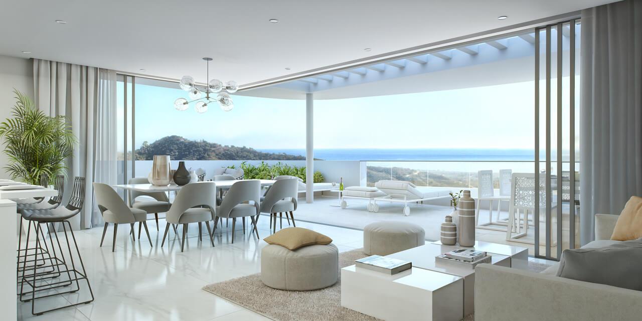 palo alto marbella costa del sol granados spanje vamoz zeezicht luxe modern resort living