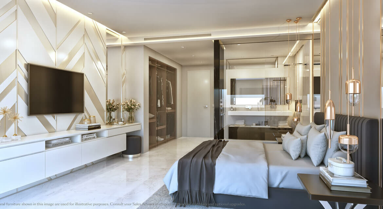 palo alto marbella costa del sol granados spanje vamoz zeezicht luxe modern resort slaapkamer