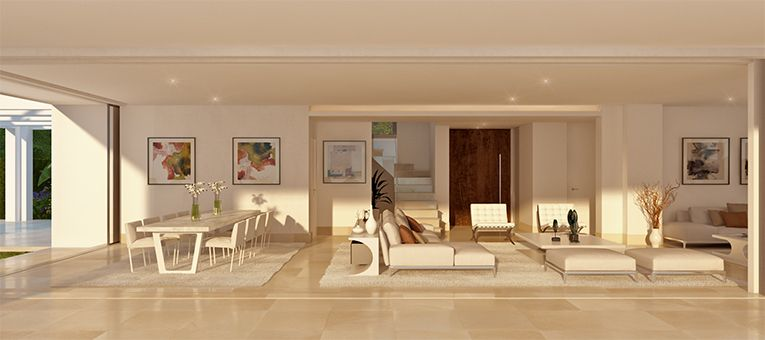 la finca de marbella rio real costa del sol spanje luxe nieuwbouw villa te koop aparte keuken