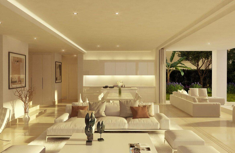 la finca de marbella rio real costa del sol spanje luxe nieuwbouw villa te koop salon