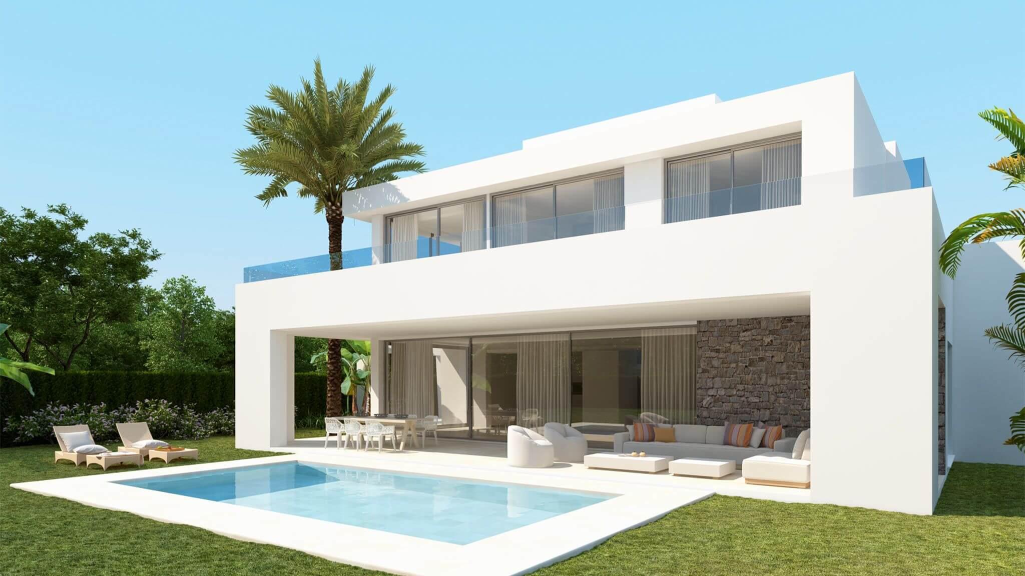 la finca de marbella rio real costa del sol spanje luxe nieuwbouw villa te koop