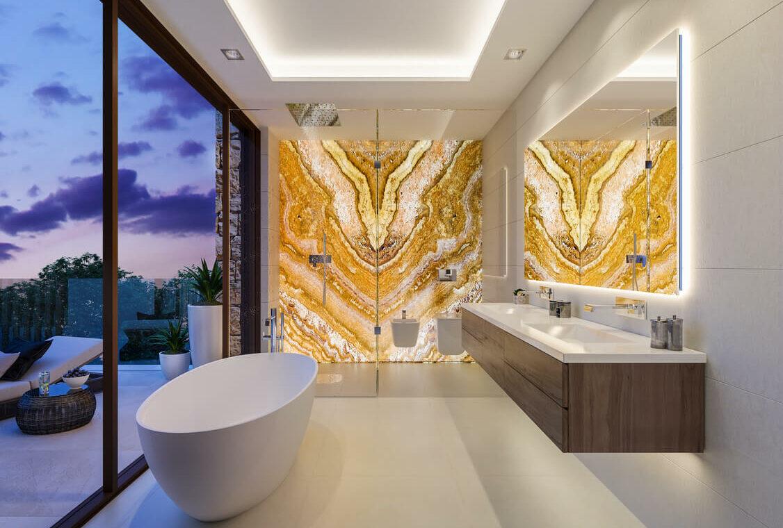 la fuente marbella spanje costa del sol villa te koop luxe uniek golden mile wandelafstand nieuwbouw A badkamer