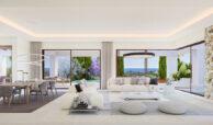 la fuente marbella spanje costa del sol villa te koop luxe uniek golden mile wandelafstand nieuwbouw A salon
