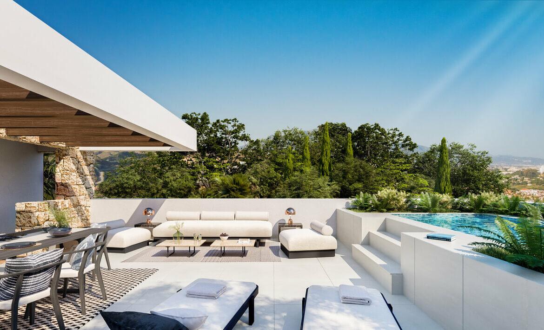 la fuente marbella spanje costa del sol villa te koop luxe uniek golden mile wandelafstand nieuwbouw A solarium