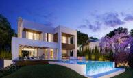 la fuente marbella spanje costa del sol villa te koop luxe uniek golden mile wandelafstand nieuwbouw B zwembad