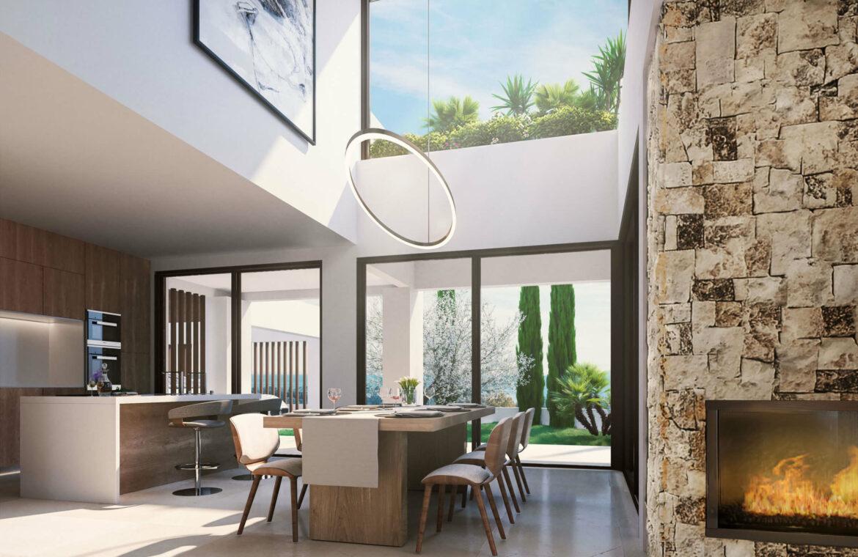 la fuente marbella spanje costa del sol villa te koop luxe uniek golden mile wandelafstand nieuwbouw C keuken