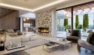 la fuente marbella spanje costa del sol villa te koop luxe uniek golden mile wandelafstand nieuwbouw C salon