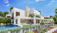 la fuente marbella spanje costa del sol villa te koop luxe uniek golden mile wandelafstand nieuwbouw C zwembad