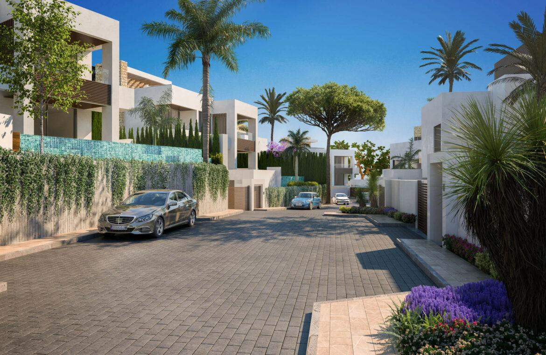 la fuente marbella spanje costa del sol villa te koop luxe uniek golden mile wandelafstand nieuwbouw complex