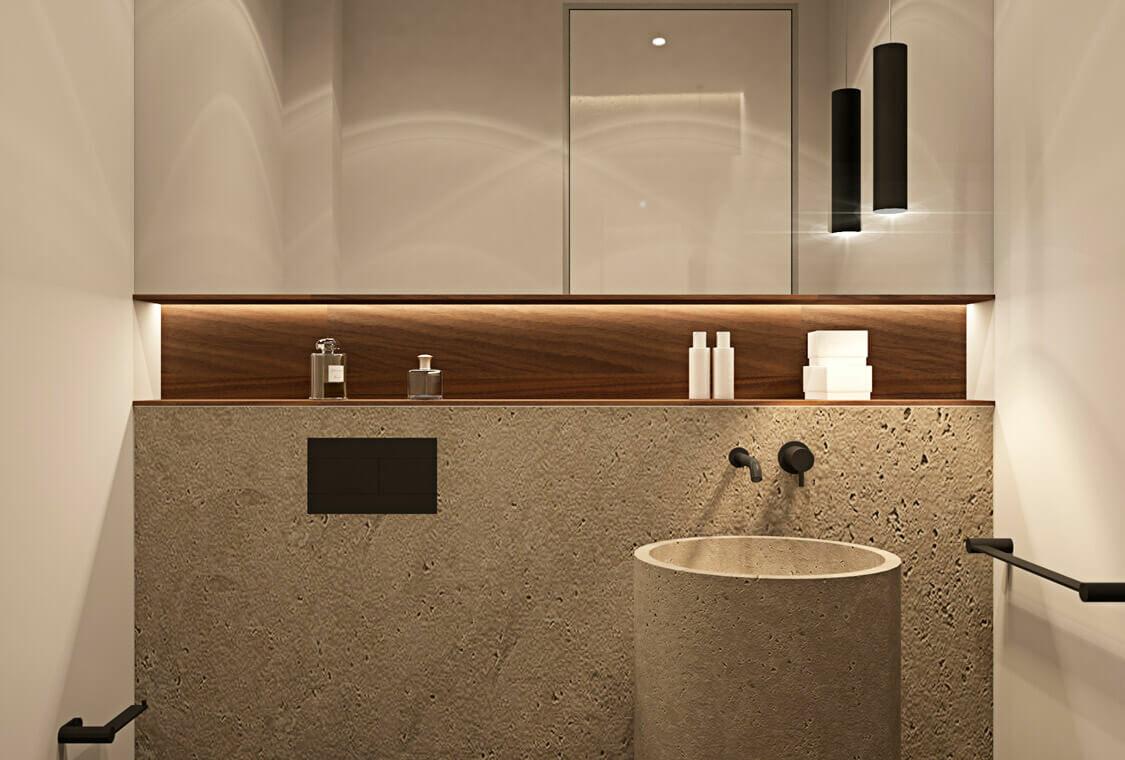 la fuente marbella spanje costa del sol villa te koop luxe uniek golden mile wandelafstand nieuwbouw toilet