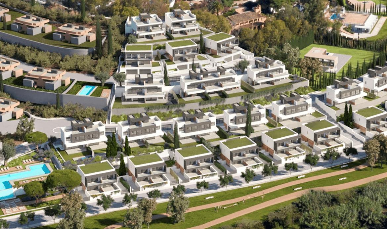 serene atalaya golf estepona costa del sol huis kopen nieuwbouw zeezicht wandelafstand complex