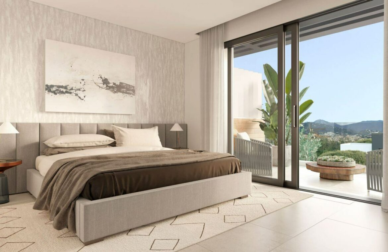 serene atalaya golf estepona costa del sol huis kopen nieuwbouw zeezicht wandelafstand slaapkamer