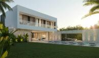 cortijo blanco beach villa vamoz te koop marbella costa del sol spanje nieuwbouw buitenkeuken