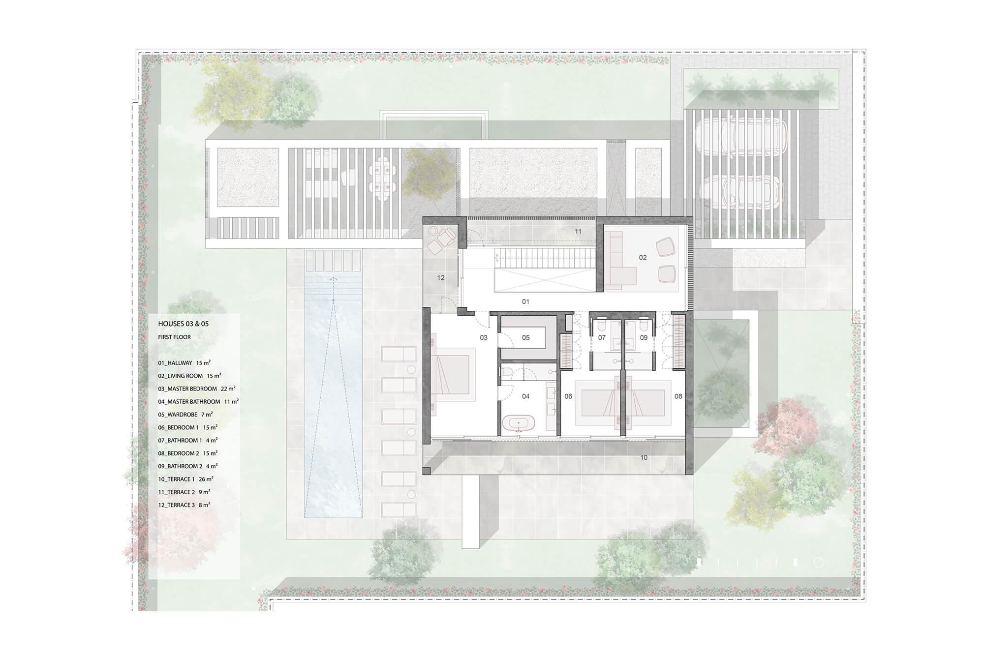 cortijo blanco beach villa vamoz te koop marbella costa del sol spanje nieuwbouw grondplan 2 verdieping