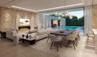cortijo blanco beach villa vamoz te koop marbella costa del sol spanje nieuwbouw haard