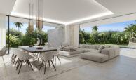 cortijo blanco beach villa vamoz te koop marbella costa del sol spanje nieuwbouw living