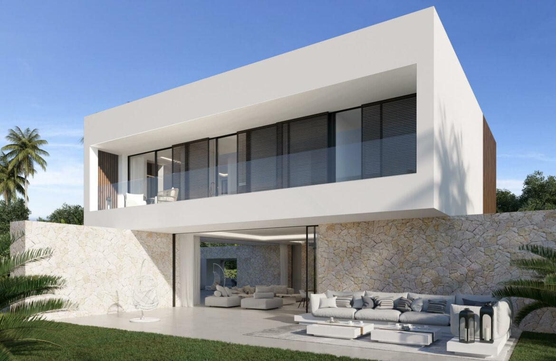 cortijo blanco beach villa vamoz te koop marbella costa del sol spanje nieuwbouw tuin