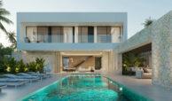 cortijo blanco beach villa vamoz te koop marbella costa del sol spanje nieuwbouw zwembad