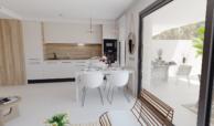 the crest nieuwbouw appartement te koop la quinta nueva andalucia golfvallei benahavis marbella costa del sol spanje zeezicht eetkamer